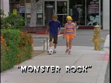 "Title Card for ""Monster Rock""."