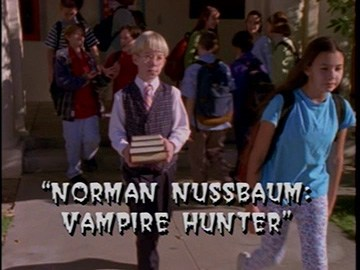 "Title Card for ""Norman Nussbaum: Vampire Hunter""."