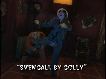 "Title Card for ""Svengali, by Golly""."