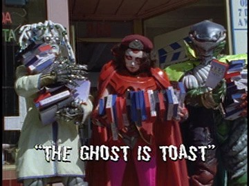 "Title Card for ""The Ghost Is Toast""."