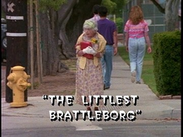 "Title Card for ""The Littlest Brattleborg""."