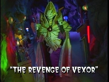 "Title Card for ""The Revenge of Vexor""."