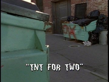 "Title Card for ""TNT for Two""."