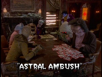 "Title Card for ""Astral Ambush""."