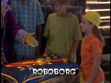"Title Card for ""Roboborg""."