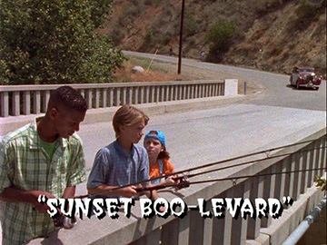 "Title Card for ""Sunset Boo-Levard""."