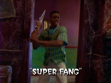 "Title Card for ""Super Fang""."
