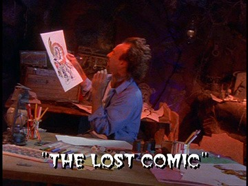 "Title Card for ""The Lost Comic""."