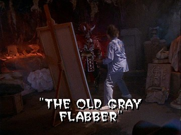 "Title Card for ""The Old Gray Flabber""."