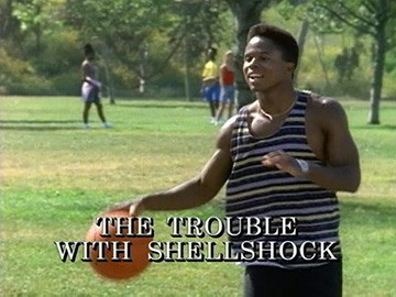 "Episode Title Card for ""The Trouble with Shellshock"""