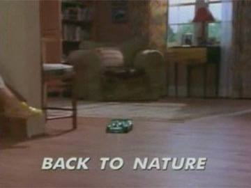 "Title Card for ""Back to Nature""."