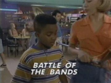"Title Card for ""Battle of the Bands""."