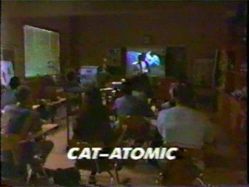 "Title Card for ""Cat-Atomic""."