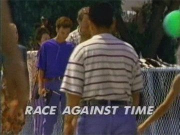 "Title Card for ""Race Against Time""."