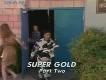 "Title Card for ""Super Gold Part Two""."