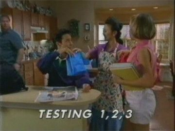 "Title Card for ""Testing 1, 2, 3""."