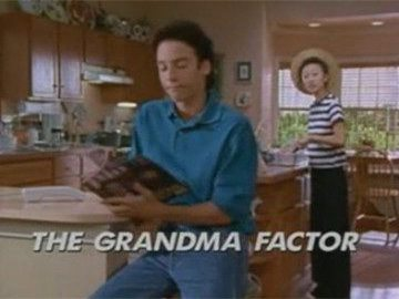 "Title Card for ""The Grandma Factor""."