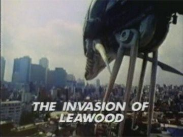 "Title Card for ""The Invasion of Leawood""."