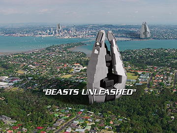 "Title Card for ""Beasts Unleashed""."
