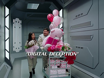 "Title Card for ""Digital Deception""."