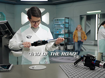 "Title Card for ""End of the Road""."