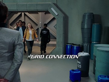 "Title Card for ""Grid Connection""."