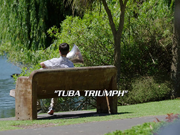 "Title Card for ""Tuba Triumph""."