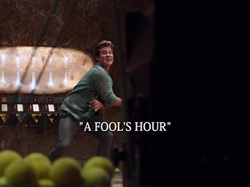 "Episode Title Card for ""A Fool's Hour"""