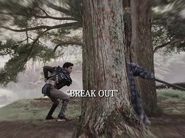"Title Card for ""Break Out""."