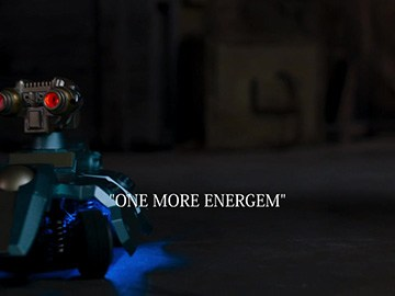 "Title Card for ""One More Energem""."