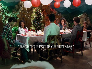"Title Card for ""Race to Rescue Christmas""."
