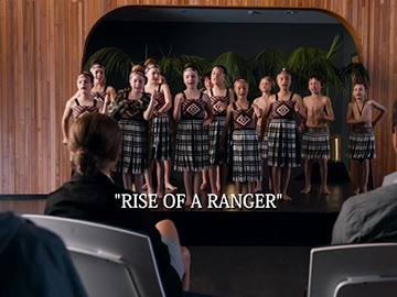 "Episode Title Card for ""Rise of a Ranger"""