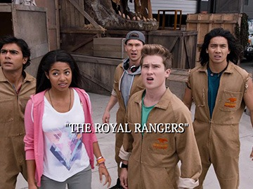 "Title Card for ""The Royal Rangers""."