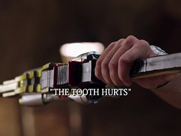 "Episode Title Card for ""The Tooth Hurts"""