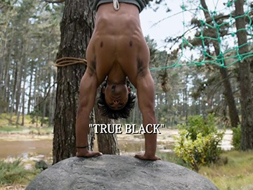 "Title Card for ""True Black""."