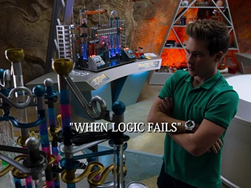 "Episode Title Card for ""When Logic Fails"""