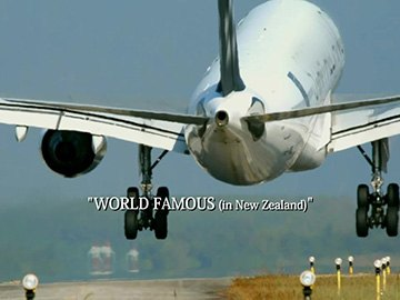 "Episode Title Card for ""World Famous (in New Zealand)""."