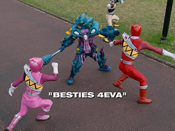 "Title Card for ""Besties 4Eva""."