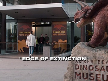 "Title Card for ""Edge of Extinction""."