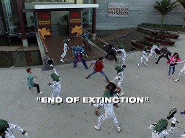 "Title Card for ""End of Extinction""."