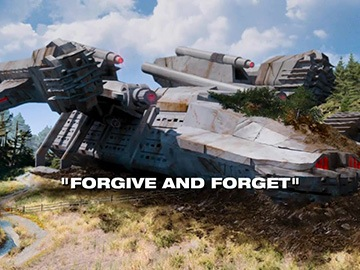 "Title Card for ""Forgive and Forget""."