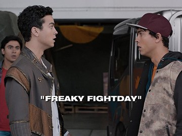 "Title Card for ""Freaky Fightday""."