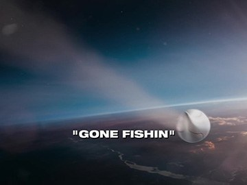 "Episode Title Card for ""Gone Fishin""."