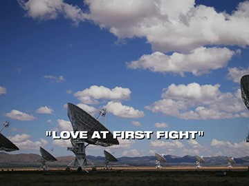 "Episode Title Card for ""Love at First Fight""."