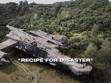 "Episode Title Card for ""Recipe for Disaster"""
