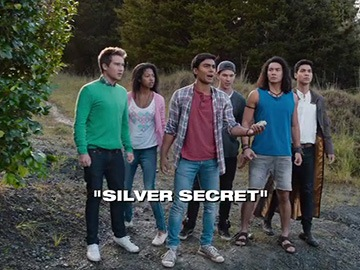 "Title Card for ""Silver Secret""."