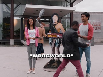 "Episode Title Card for ""Worgworld""."