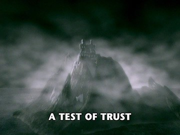 "Title Card for ""A Test of Trust""."