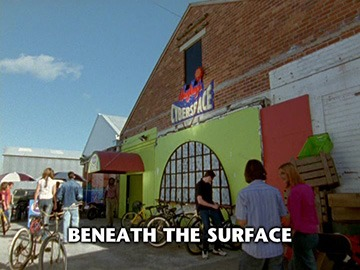"Episode Title Card for ""Beneath the Surface""."