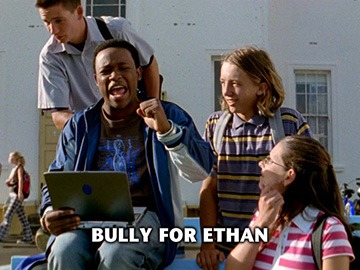 "Episode Title Card for ""Bully for Ethan""."